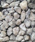 The quartz crystal pebble rock hill, background textures. The quartz crystal pebble rock hill for background textures royalty free stock photography