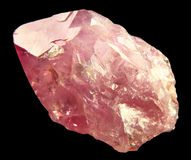 Quartz de Rose Photos libres de droits