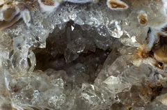 Quartz geode Royalty Free Stock Photography