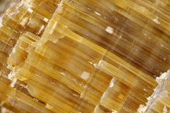 Quartz (silicon dioxide) crystals. Close up photograph of a quartz (silicon dioxide) crystals. Europe, Poland, Holy Cross Mountains royalty free stock photo
