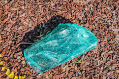 Quartz stone, glass rocks, fluorite Royalty Free Stock Photos