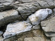 Quartz vein Stock Photo