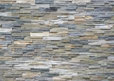 Quartzite natural stone cladding for external walls. Background and texture stock photo