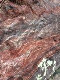 Quartzito de Baraboo no lago Wisconsin devils Fotos de Stock Royalty Free