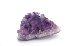 Quartzo Amethyst Fotos de Stock Royalty Free