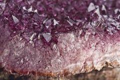 Quartzo Amethyst Foto de Stock Royalty Free