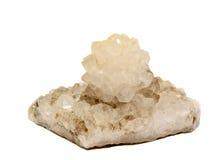 Quartzo Crystal Rose Foto de Stock