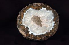 Quartzo Geode Fotografia de Stock