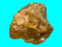 Quartzo natural de pedra Imagem de Stock Royalty Free