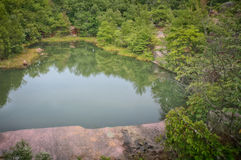 Quary pond at Elephant Rock Stock Image