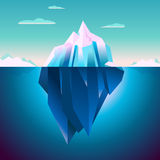 Quarz Iceberg Serenity Lowpoly Dream Stock Photo