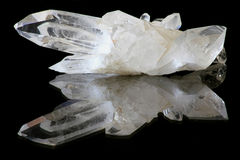 Quarz-Kristalle Lizenzfreie Stockfotografie