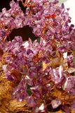 Quarz-Kristalle Lizenzfreies Stockfoto