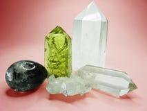 Quarz Zitringeode geologische Kristalle Lizenzfreie Stockbilder