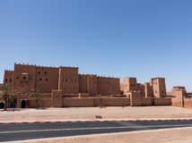 Quarzazate Kasbah Taourirt in Morocco Stock Photos