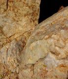 Quarzdetail an den weißen Felsen Lizenzfreies Stockfoto