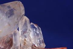 Quarzkristall stockfotos