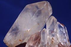 Quarzkristall lizenzfreie stockbilder