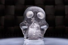 Quarzschädel II stockbild