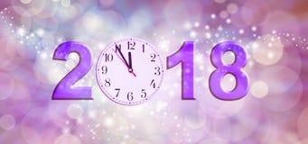 Quasi buon anno 2018 Immagine Stock Libera da Diritti