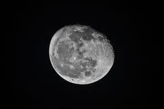 Quasi luna piena Fotografia Stock