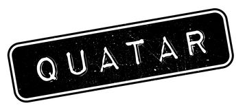 Quatar rubber stamp Royalty Free Stock Image
