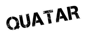 Quatar rubber stamp Stock Images