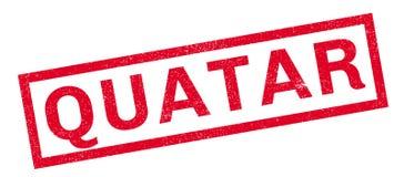 Quatar rubber stamp Stock Photo