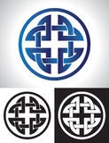 Quaternary Celtic Knot Royalty Free Stock Photography