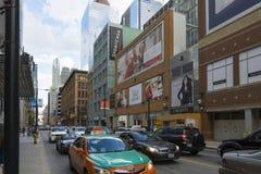 Quatre étapes vers Toronto Photos libres de droits