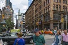 Quatre étapes vers Toronto Photo libre de droits