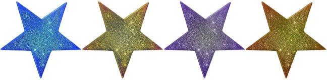 Quatre étoiles Image libre de droits