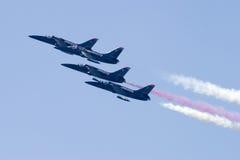 Quatre avions à réaction de patriote Photographie stock
