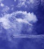 Quatre avions Photographie stock libre de droits