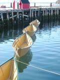 Quatre bateaux Photos libres de droits