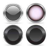 Quatre boutons Image libre de droits