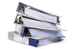 Quatre cahiers Photo stock
