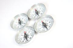 Quatre compas Images stock