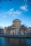 Quatre cours à Dublin Image libre de droits