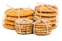 Quatre ensembles de biscuits Photo libre de droits