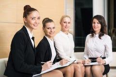 Quatre femmes d'affaires Images libres de droits