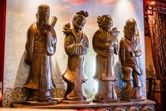 Quatre figures Image stock