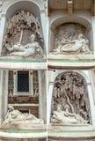 Quatre fontaines Rome photographie stock libre de droits