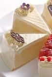 Quatre gâteaux de beurre Photographie stock