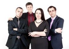 Quatre gens d'affaires Photographie stock libre de droits