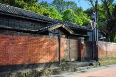 Quatre jointifs de la résidence de style japonais du musée d'or, nouveau gouvernement municipal de Taïpeh dans le secteur de Ruif Image libre de droits