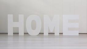 Quatre lettres - à la maison Image stock