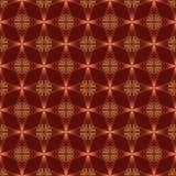 Quatre ligne latérale modèle sans couture lumineux rouge Photo libre de droits