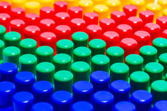 Quatre matrices de Lego Photo stock