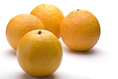 Quatre oranges images stock
